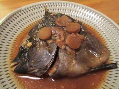 イシダイの味噌煮1