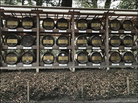 明治神宮ワイン樽
