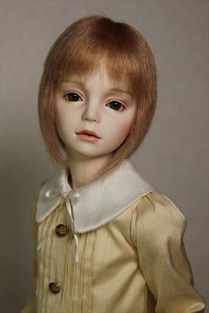 琥珀(kohaku) 少年ビスクドール