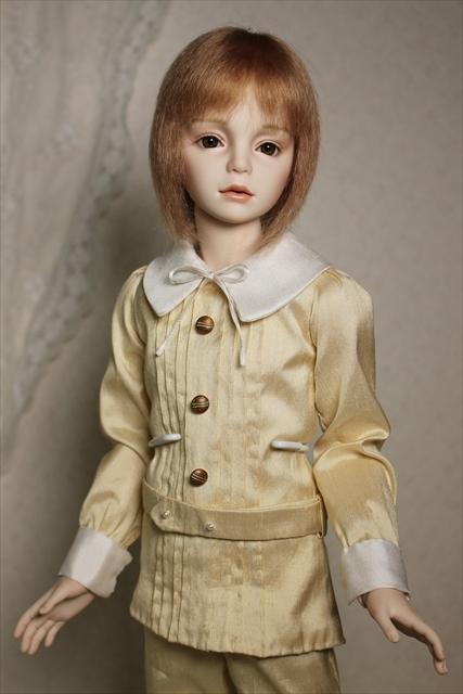 琥珀(kohaku) 少年人形