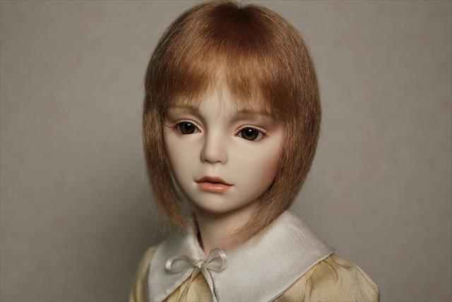 琥珀色の髪の少年(kohaku) 少年ビスクドール