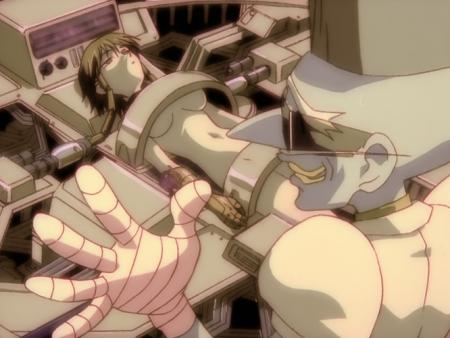 勇者王ガオガイガーFINAL ルネ・カーディフ・獅子王14歳の全裸ヌード改造手術シーン37