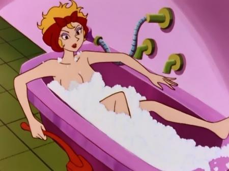 ヤッターマン1977 ドロンジョ様の全裸ヌード入浴シーン16