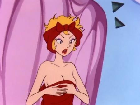 ヤッターマン1977 ドロンジョ様の胸裸ヌード19