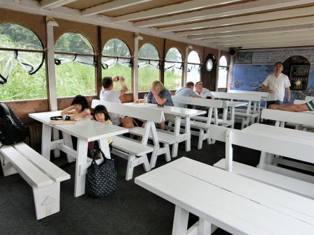 トラカイ城 遊覧船ボート3