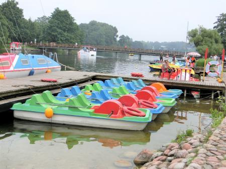 トラカイ城 遊覧船ボート17
