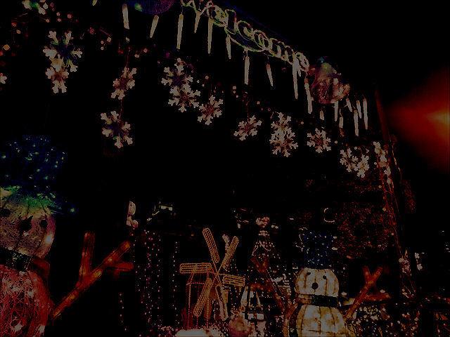 行橋駅のイルミネーション-2-2