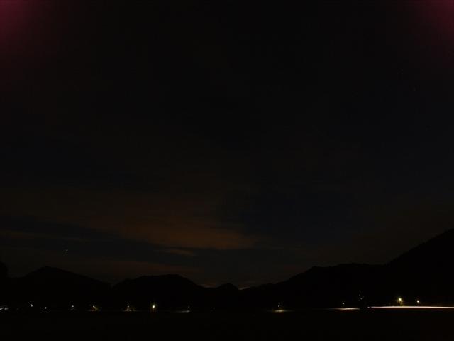宇宙ステーション「きぼう」の光跡