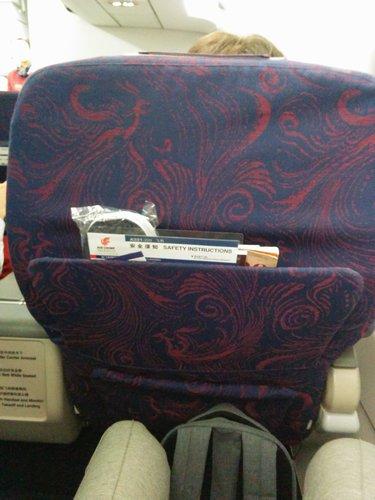 Air China A321 Seat