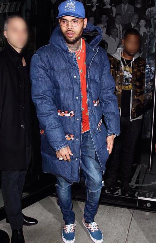 クリス・ブラウン(Chris Brown):エイチアンドエム(H&M)×ケンゾー(KENZO)/バンズ(Vans)