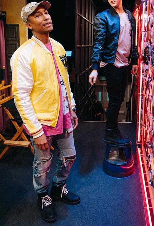 ファレル・ウィリアムス(Pharrell Williams):ヒューマンメイド(Human Made)/ティンバーランド(Timberland)× シュプリーム(Supreme)