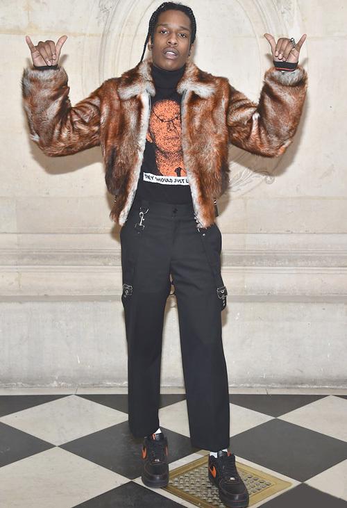 エイサップ・ロッキー(A$AP Rocky) :ディオール(Dior)/ナイキ(NIKE)