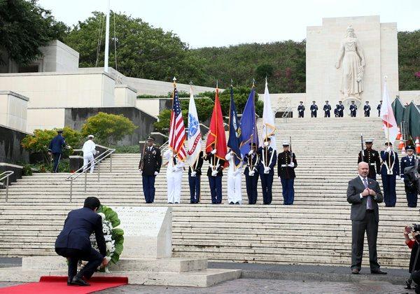 12月27日 国立太平洋記念墓地訪問