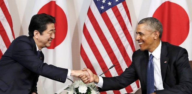 12月28日 日経 日米首脳会談