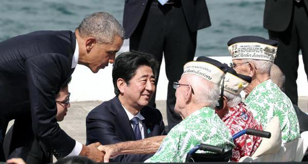 12月28日 産経 安倍首相真珠湾訪問
