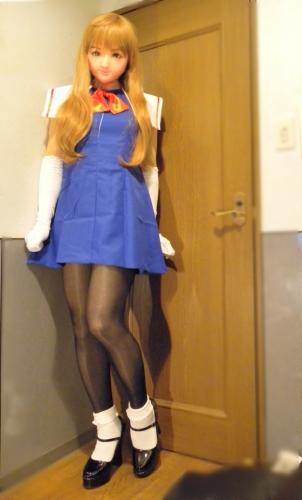 青ドレス03