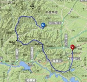 八峰コース20170109