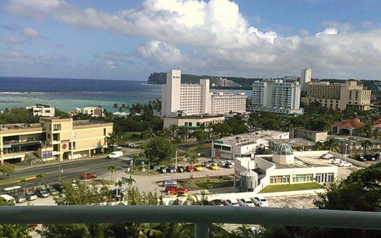 グアムホテル部屋からの景色2