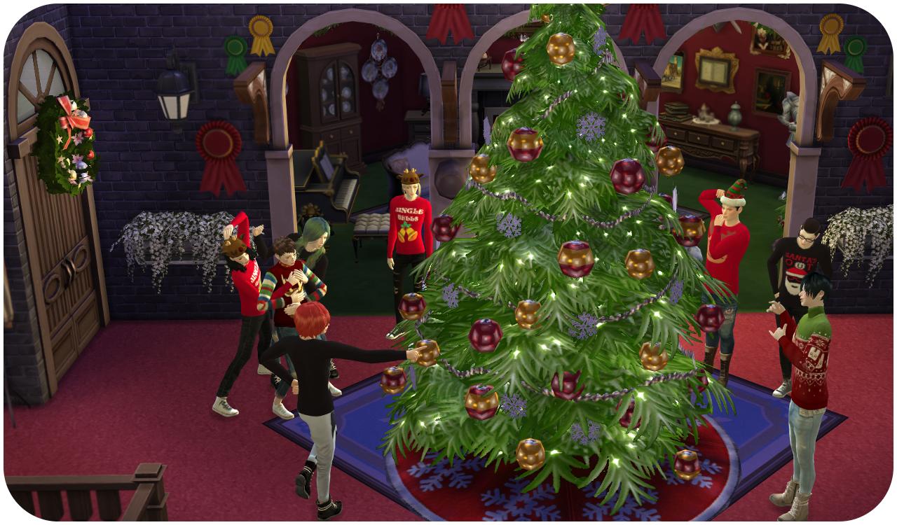 クリスマス テーマハウスへ