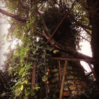 窯垣の小径 古窯煙突