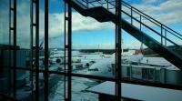 チューリッヒの空港