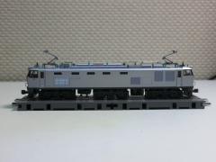 KATO・EF510銀 貨物色2