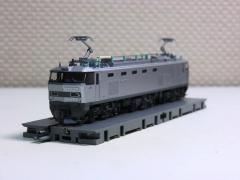 KATO・EF510銀 貨物色3
