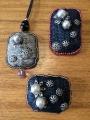 大島紬と真珠
