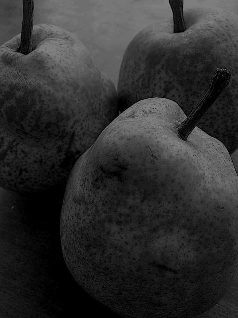 3つの梨縮小