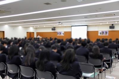 交通安全講習会/鈴鹿高校