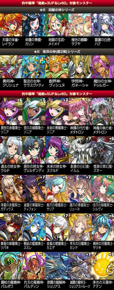 全世界6000万DL達成記念イベント(後半)!!|パズル&ドラゴンズ 2