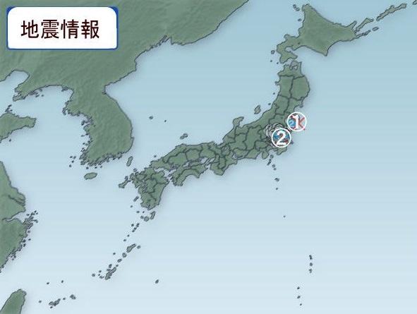 2017年1月12日の地震