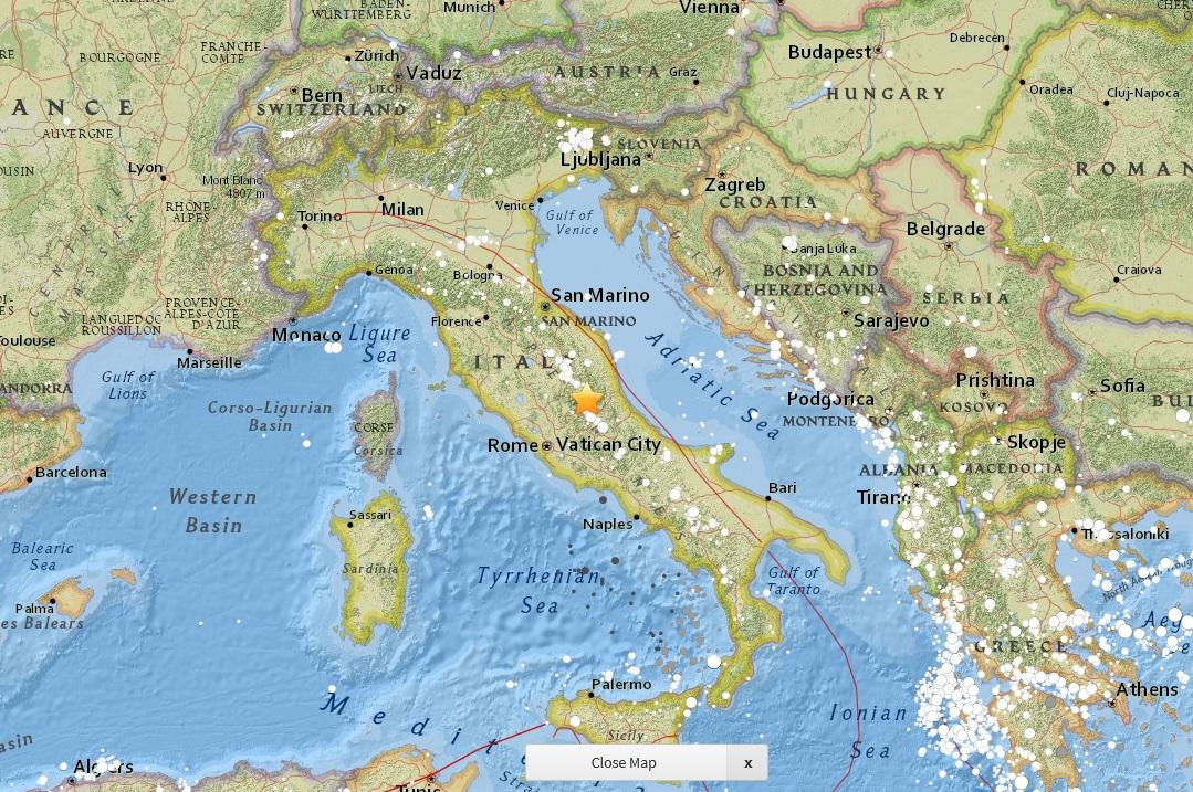 1月18日 世界の地震