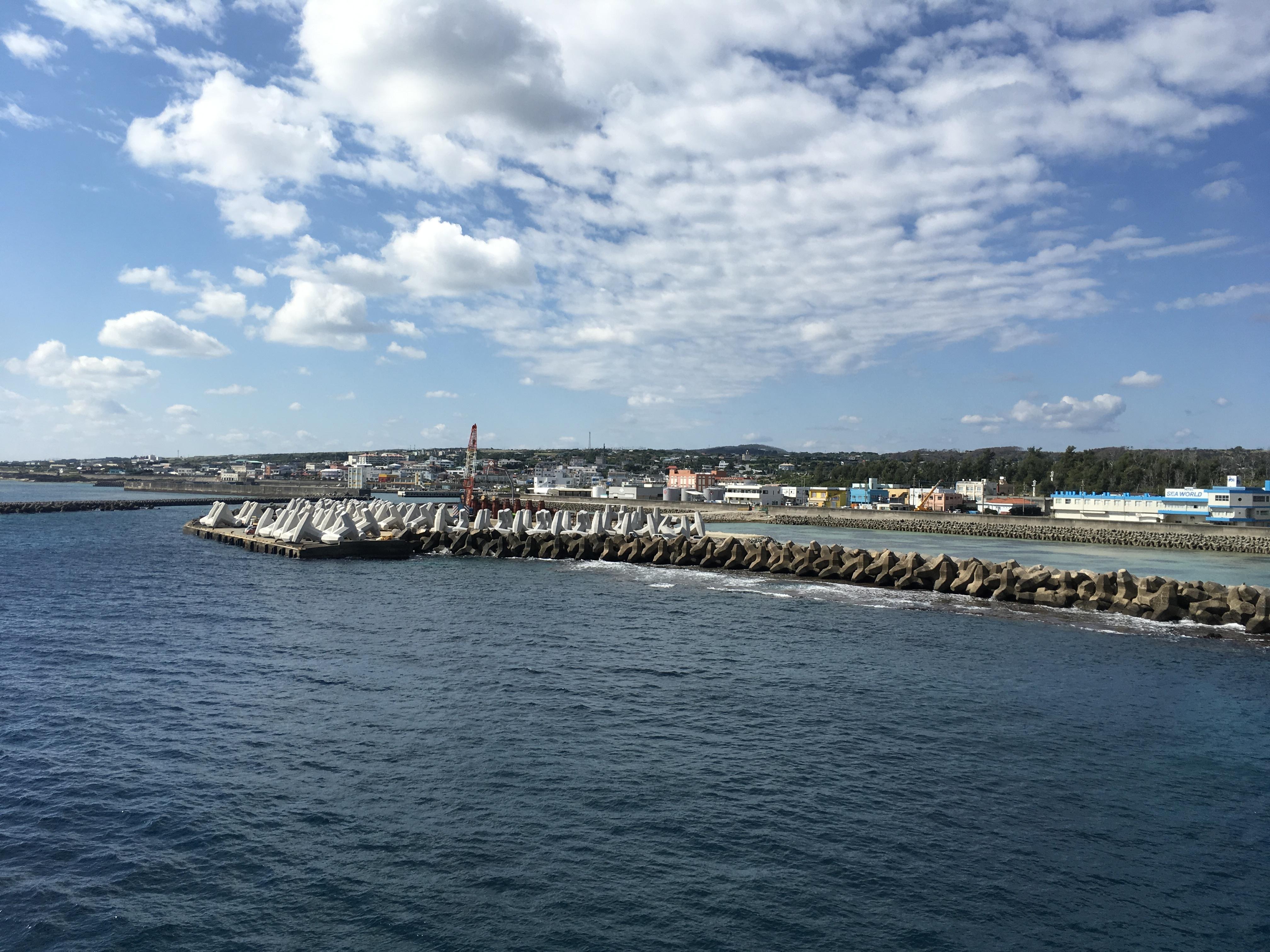 20170126 沖永良部島港