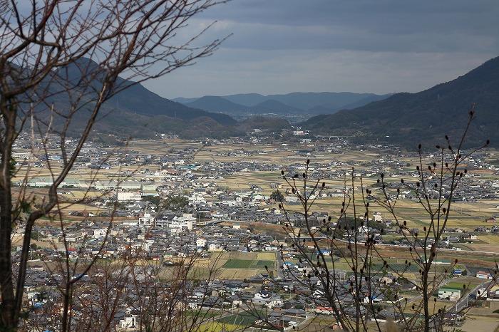 山条山からとっさか峠方面 29.1.5