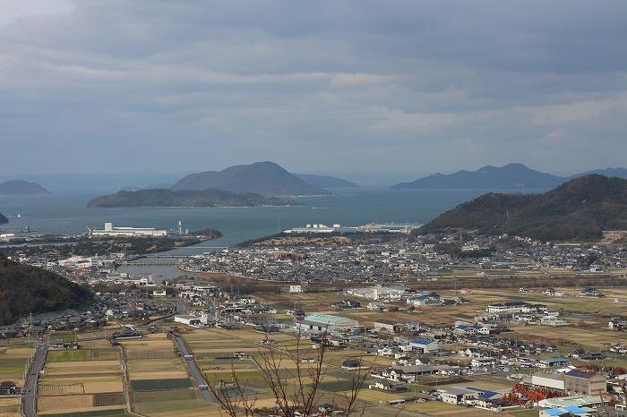 山条山から瀬戸内海 29.1.5