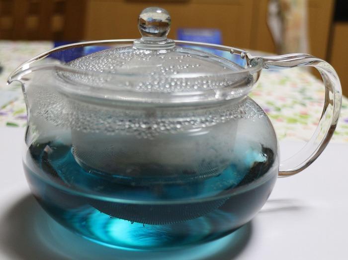 アンチャン ティーにお湯を 29.2.2