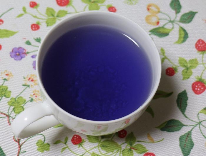 柚子を入れる、紫色に 29.2.2