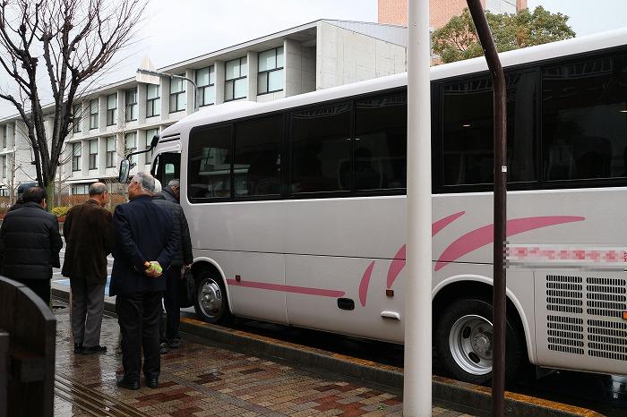 みんなはバスで帰ります 29.2.9