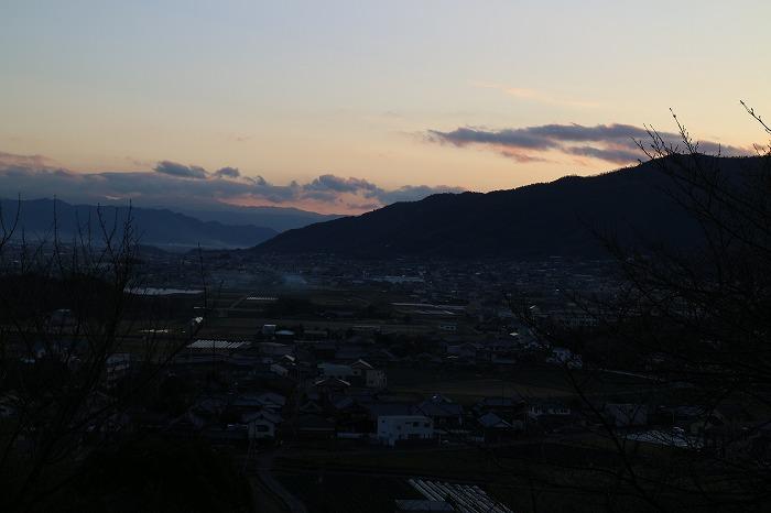 2016年最後の夕焼け 28.12.31