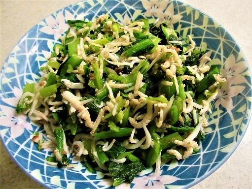 170128-231小松菜のしらすおかか和え(S)