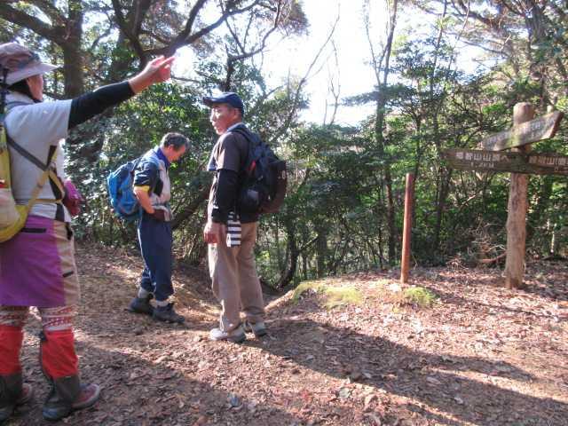 IMG6733JPG上野越に到着鷹取山へ