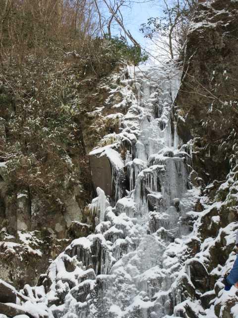 IMG7325JPG下部より行者の滝全景