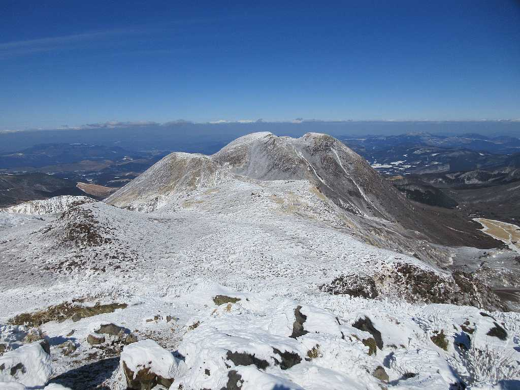 IMG7435JPG中岳山頂より三俣山