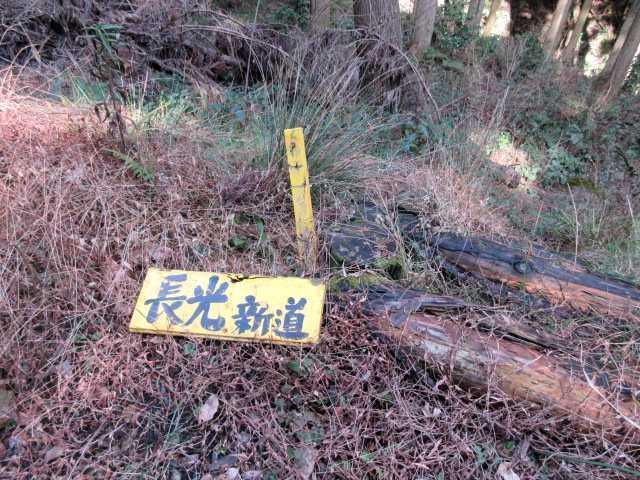 IMG7615JPG林道脇の標識