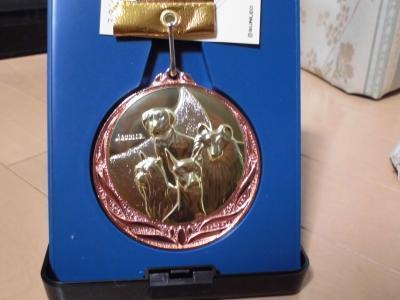 可愛い銅メダル