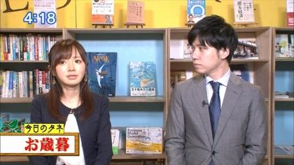 161214朝ダネ 紺野あさ美 (3)