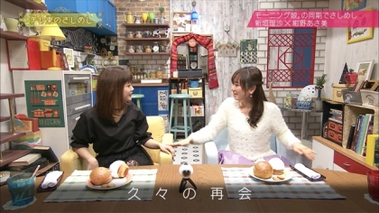 161228テレ東のさしめし 紺野あさ美 新垣里沙 (3)