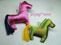 カンセ 馬の飾り