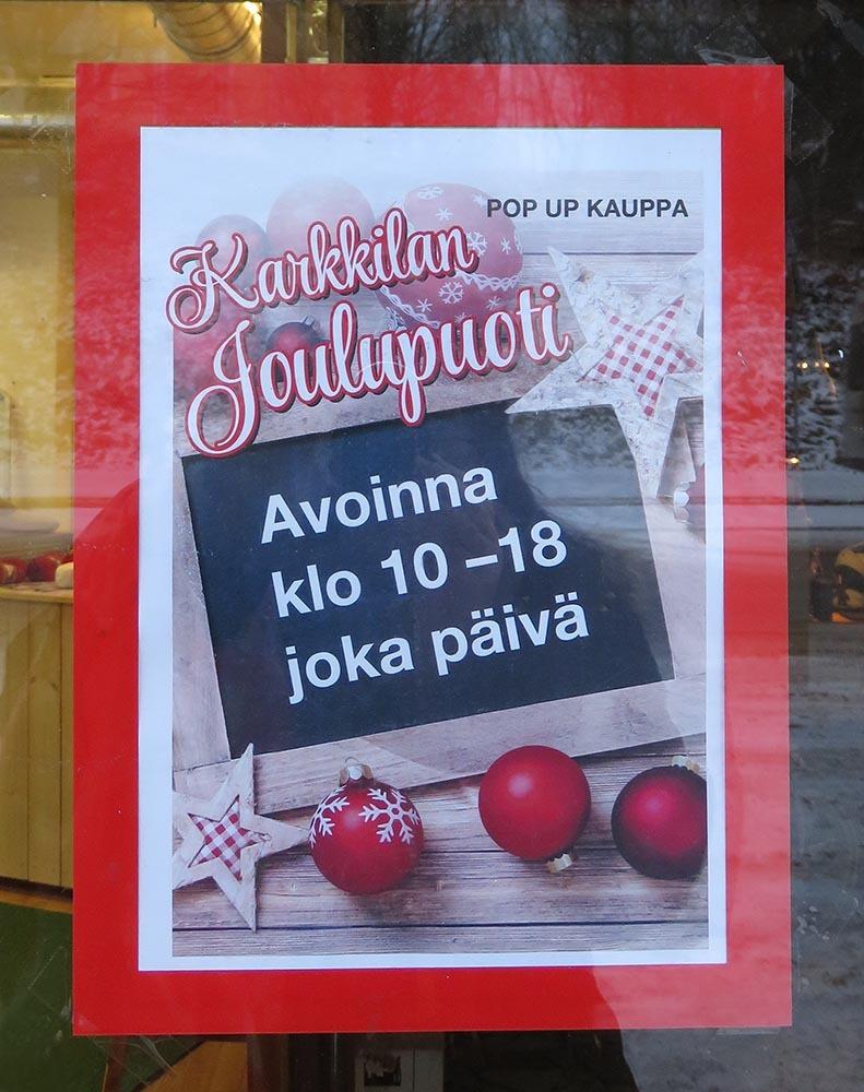 フィンランド クリスマスショップ ハンドメイド